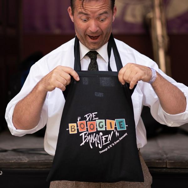 Beutel mit Boogie Banausen Original Logo