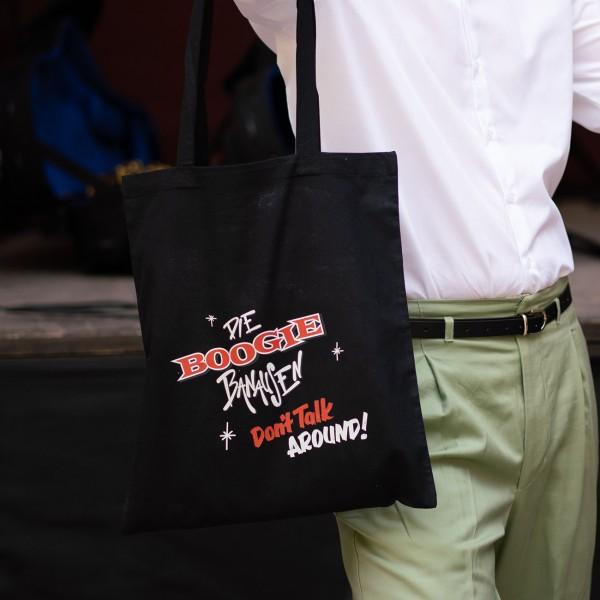 Einkaufstasche mit Album Cover